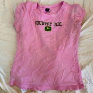 John Deere size small shirt
